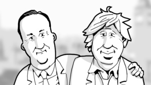 Dave and Boris by Alwyn Talbot